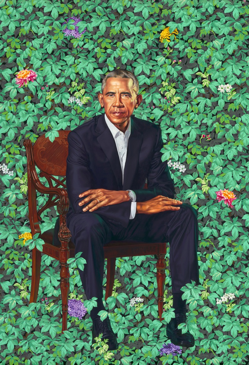 by Kehinde Wiley © Kehinde Wiley