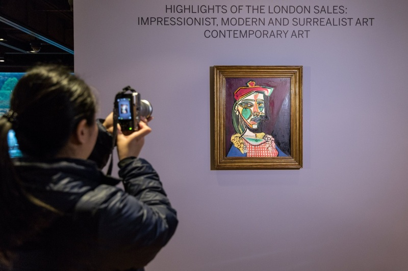 Sotheby's auction preview in Hong Kong